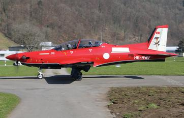 HB-HWF - Royal Australian Air Force Pilatus PC-21