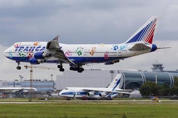 EI-XLO - Transaero Airlines Boeing 747-400