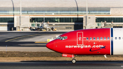 LN-NGK - Norwegian Air Shuttle Boeing 737-800