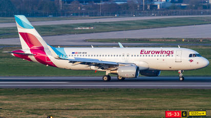 OE-IEW - Eurowings Europe Airbus A320