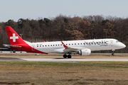 HB-JVO - Helvetic Airways Embraer ERJ-190 (190-100) aircraft