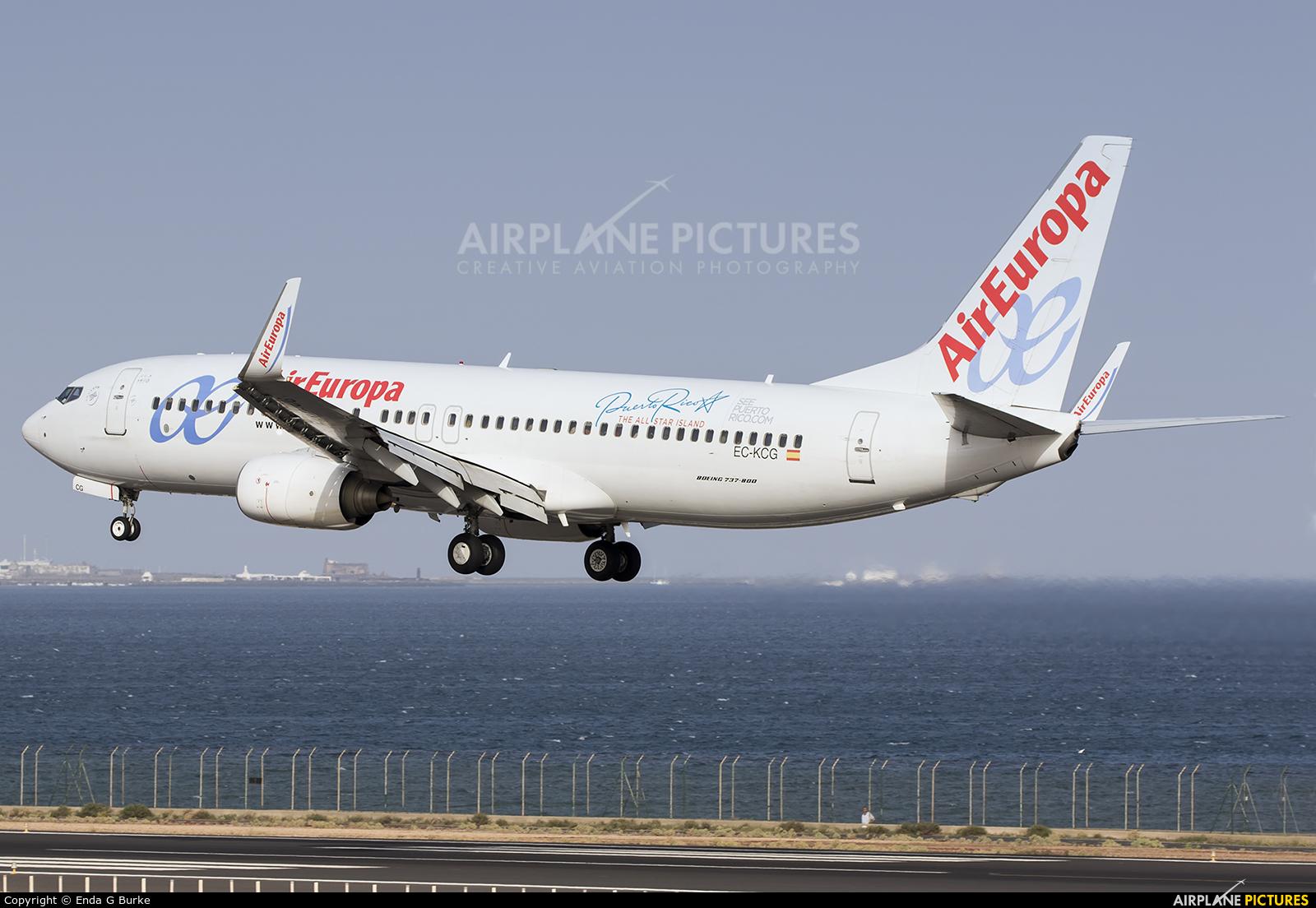 Air Europa EC-KCG aircraft at Lanzarote - Arrecife