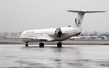 EP-MIS - Naft Airlines Fokker 100