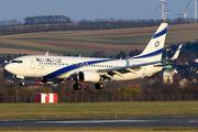 El Al Israel Airlines Boeing 737-800 4X-EKL aircraft