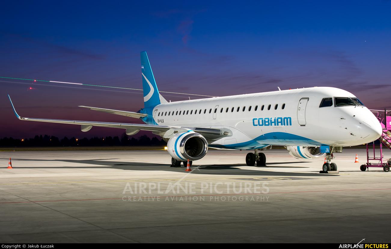 Cobham Aviation VH-NJA aircraft at Warsaw - Frederic Chopin