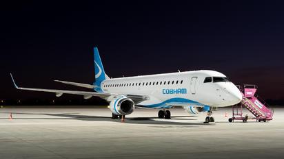 VH-NJA - Cobham Aviation Embraer ERJ-190 (190-100)