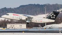 HB-IYU - Swiss British Aerospace BAe 146-300/Avro RJ100 aircraft
