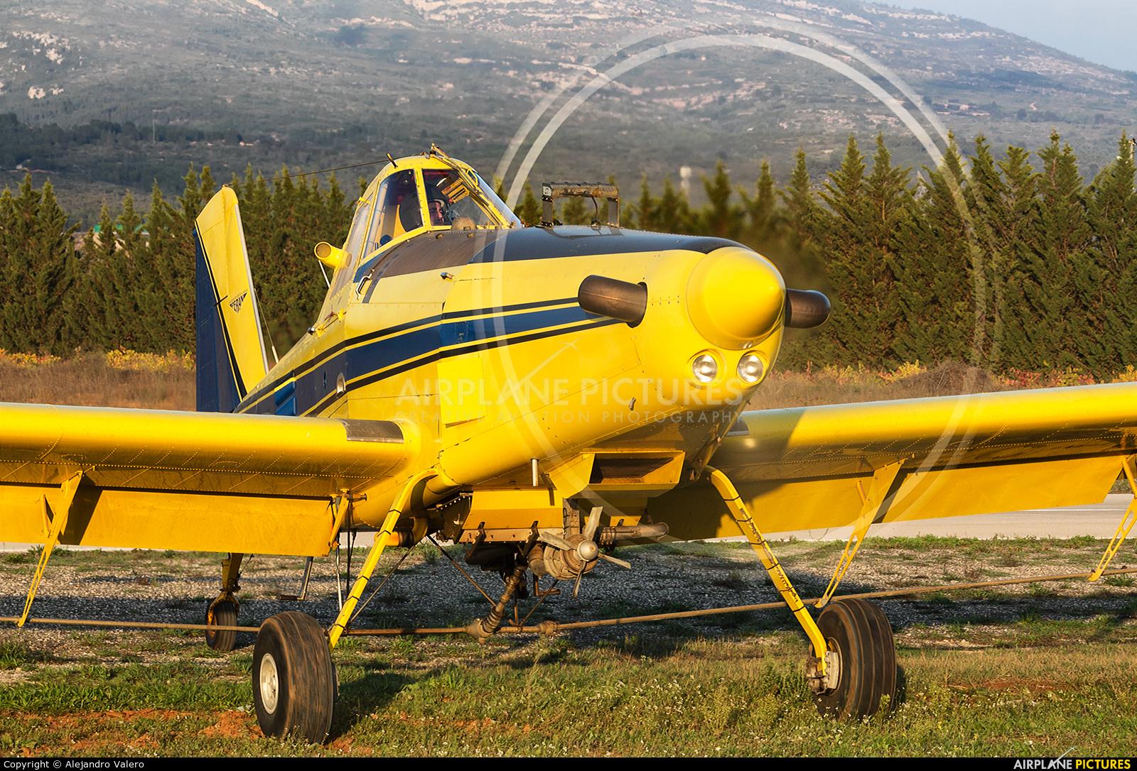 Private EC-JIV aircraft at Requena
