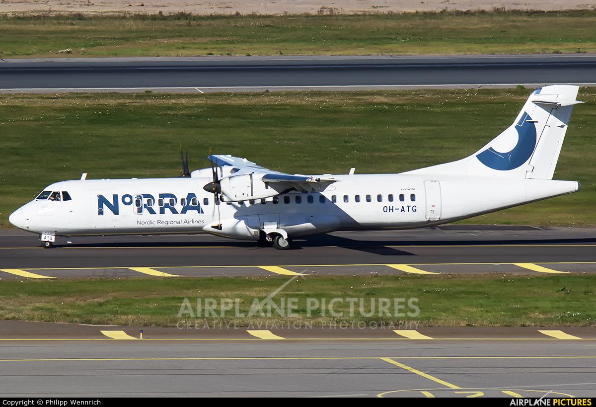 NoRRA - Nordic Regional Airlines OH-ATG aircraft at Helsinki - Vantaa