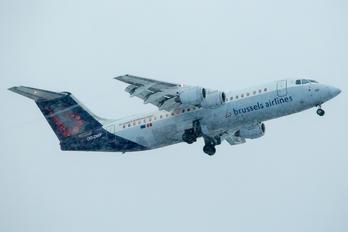 OO-DWF - Brussels Airlines British Aerospace BAe 146-300/Avro RJ100