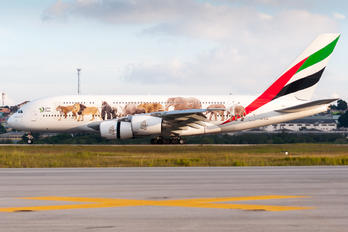 A6-EOM - Emirates Airlines Airbus A380