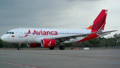 N741AV - Avianca Airbus A320