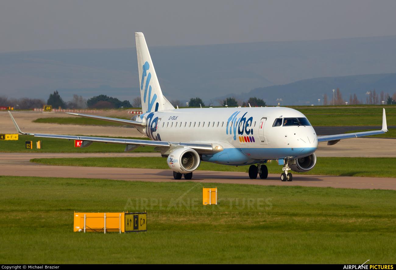 G-FBJK - Flybe Embraer ERJ-175 (170-200) at Manchester ... - photo#42