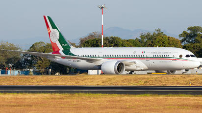 XC-MEX - Mexico - Air Force Boeing 787-8 Dreamliner