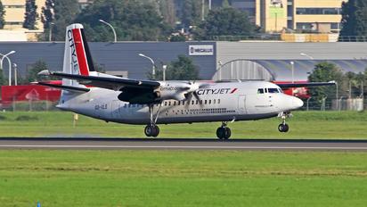 OO-VLS - CityJet Fokker 50