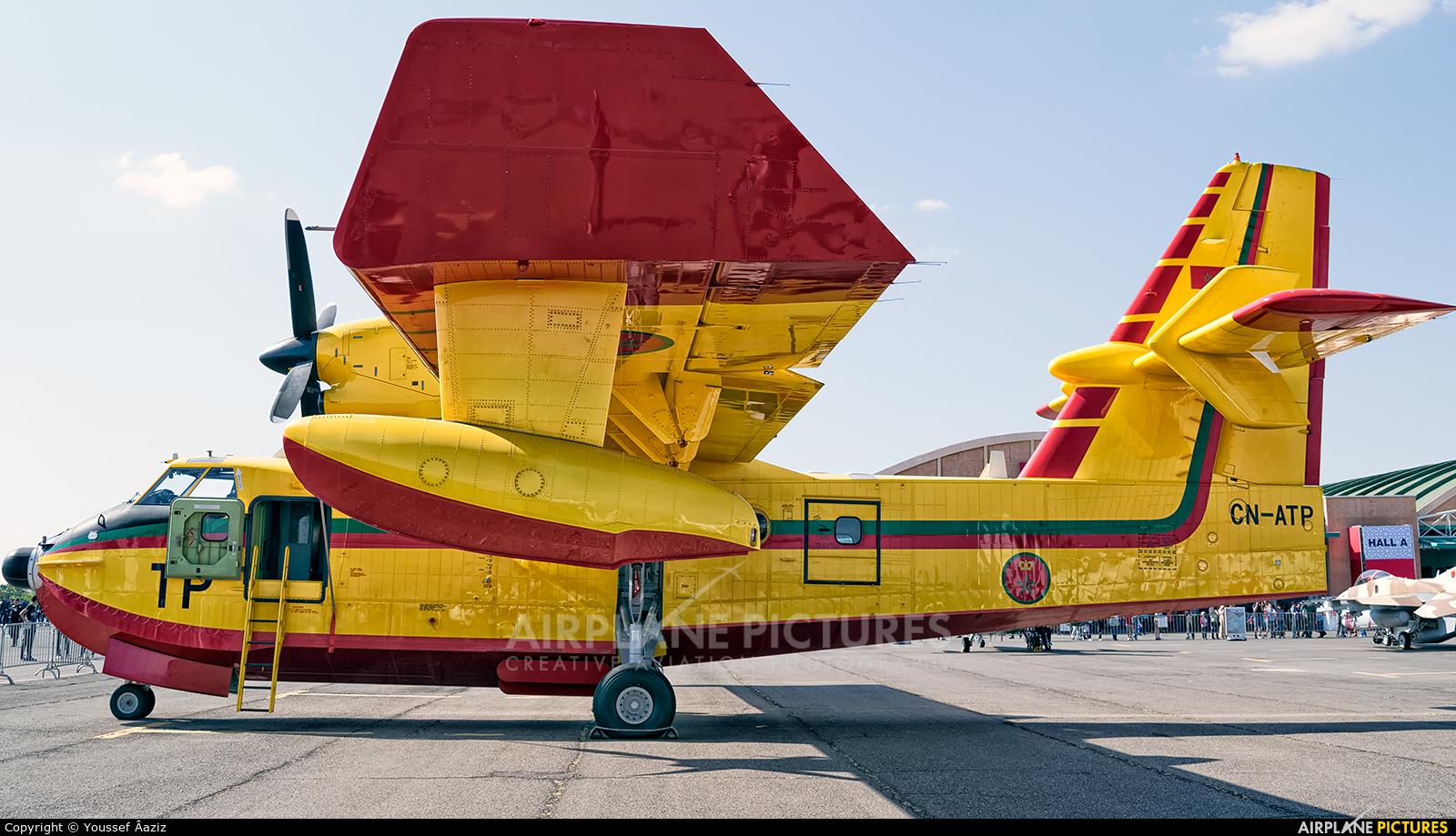 Morocco - Air Force CN-ATP aircraft at Marrakech - Menara