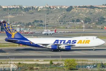 N412MC - Atlas Air Boeing 747-400F, ERF