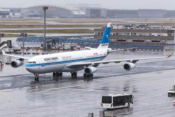 9K-ANB - Kuwait Airways Airbus A340-300