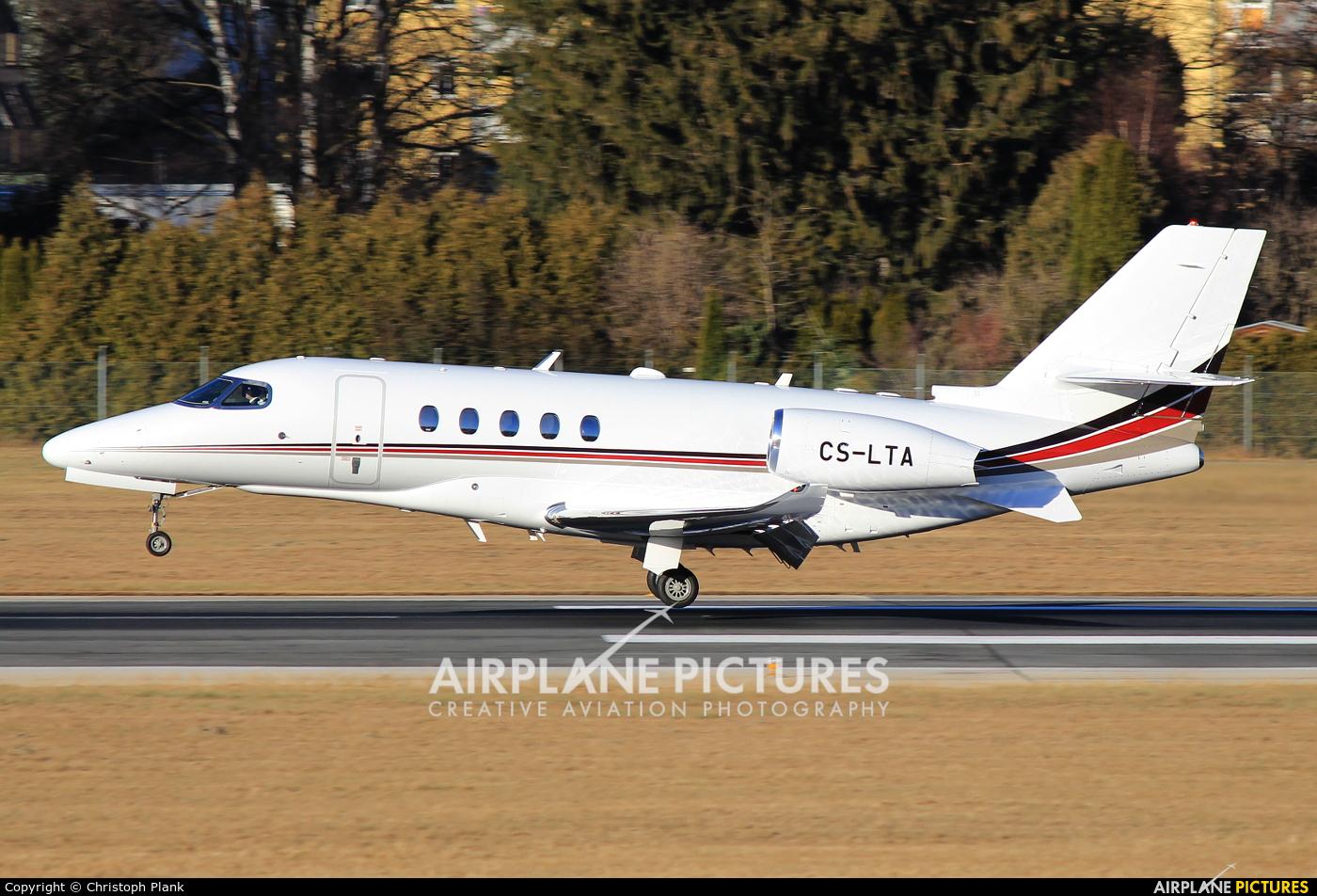 NetJets Europe (Portugal) CS-LTA aircraft at Innsbruck