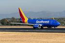 Southwest Airlines Boeing 737-700 N7710A at San Jose - Juan Santamaría Intl airport