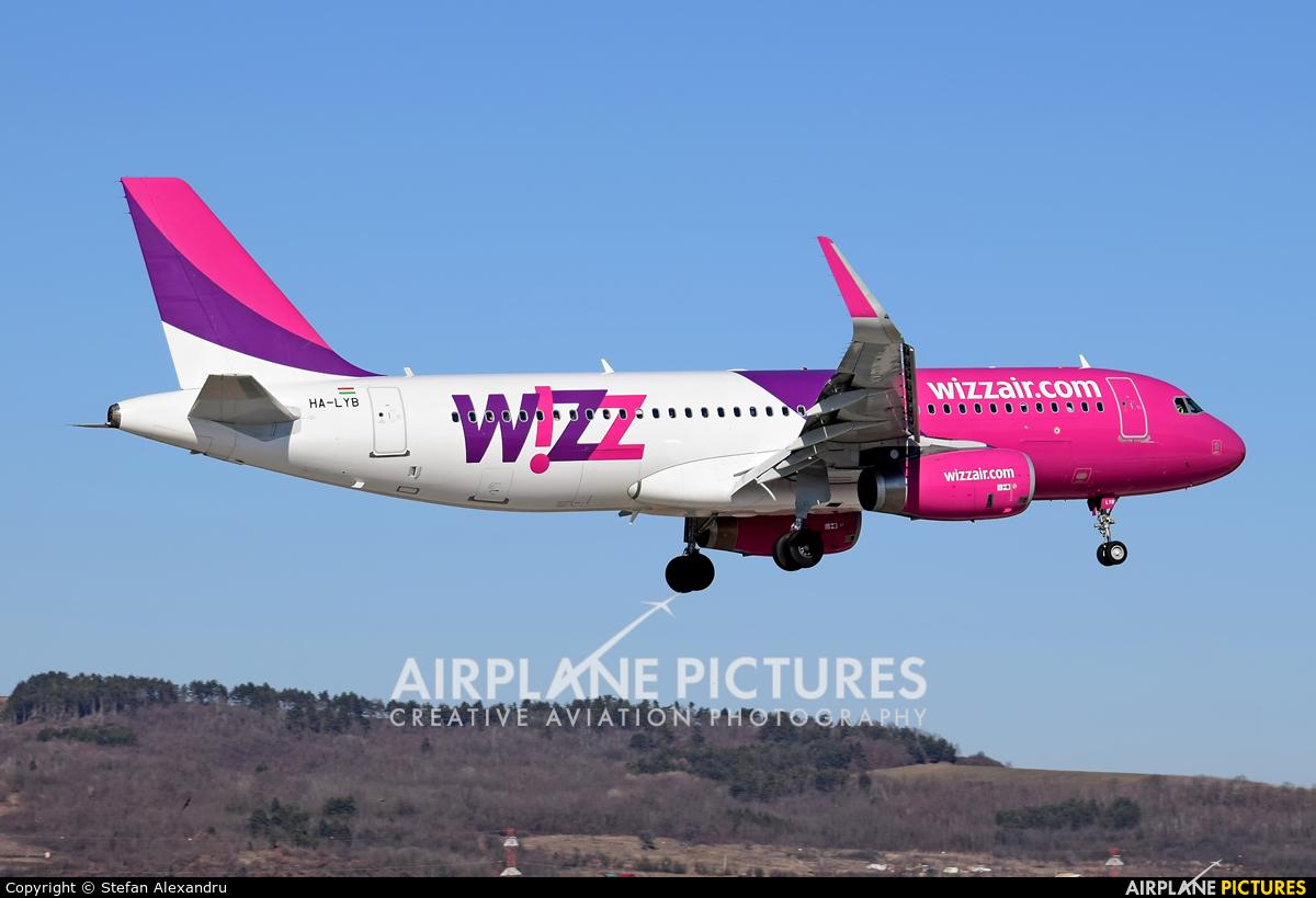 Wizz Air HA-LYB aircraft at Cluj Napoca - Someseni