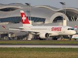 HB-JBC - Swiss Bombardier CS100 aircraft