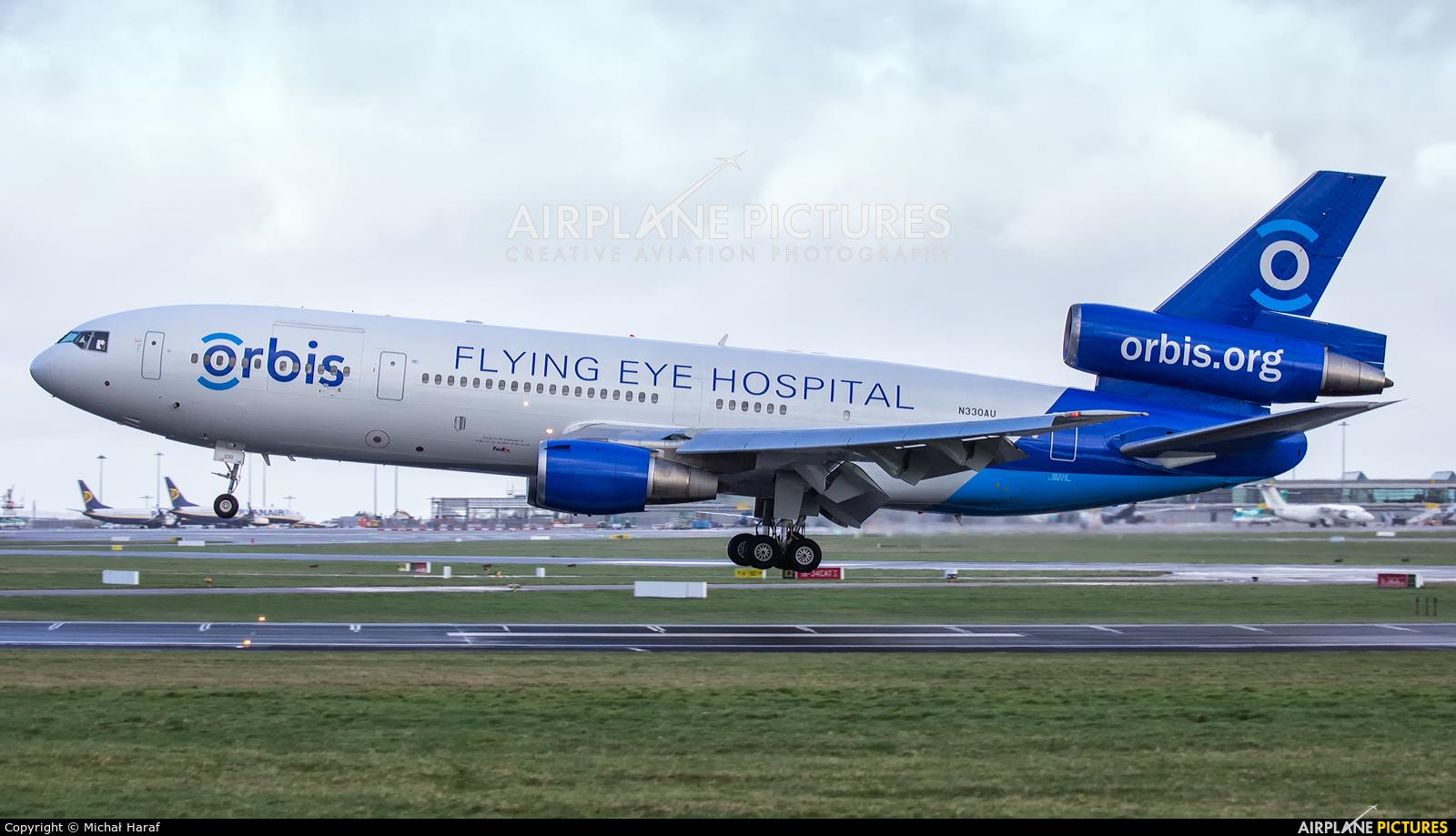 Orbis N330AU aircraft at Dublin