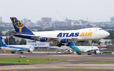 N409MC - Atlas Air Boeing 747-400F, ERF