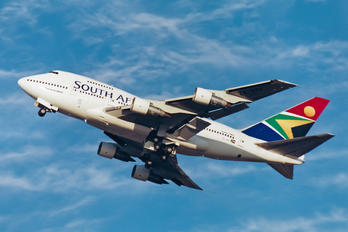 ZS-SPA - South African Airways Boeing 747SP