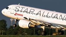 HB-IJN - Swiss Airbus A320 aircraft