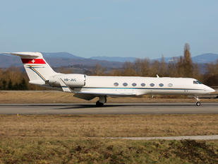 HB-JKC - Jet Aviation Business Jets Gulfstream Aerospace G-V, G-V-SP, G500, G550