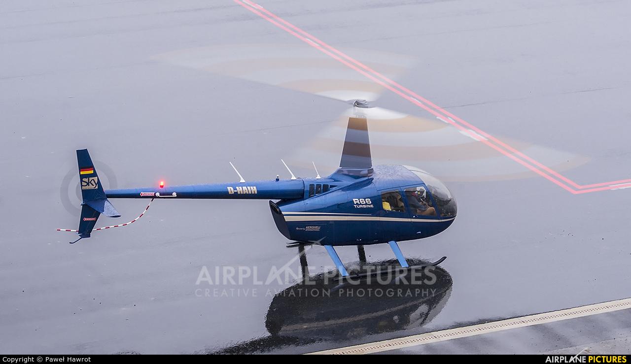 Sky Poland D-HAIH aircraft at Krosno