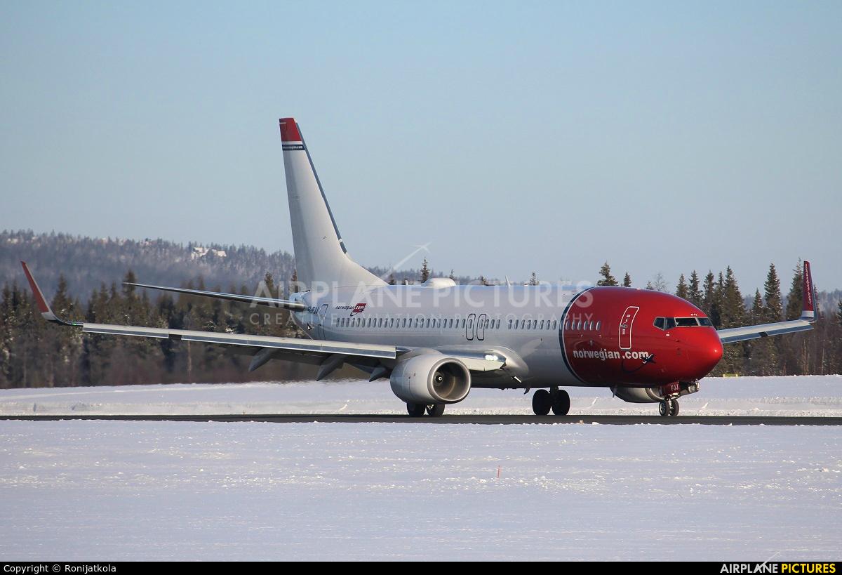Norwegian Air Shuttle EI-FJJ aircraft at Kittilä