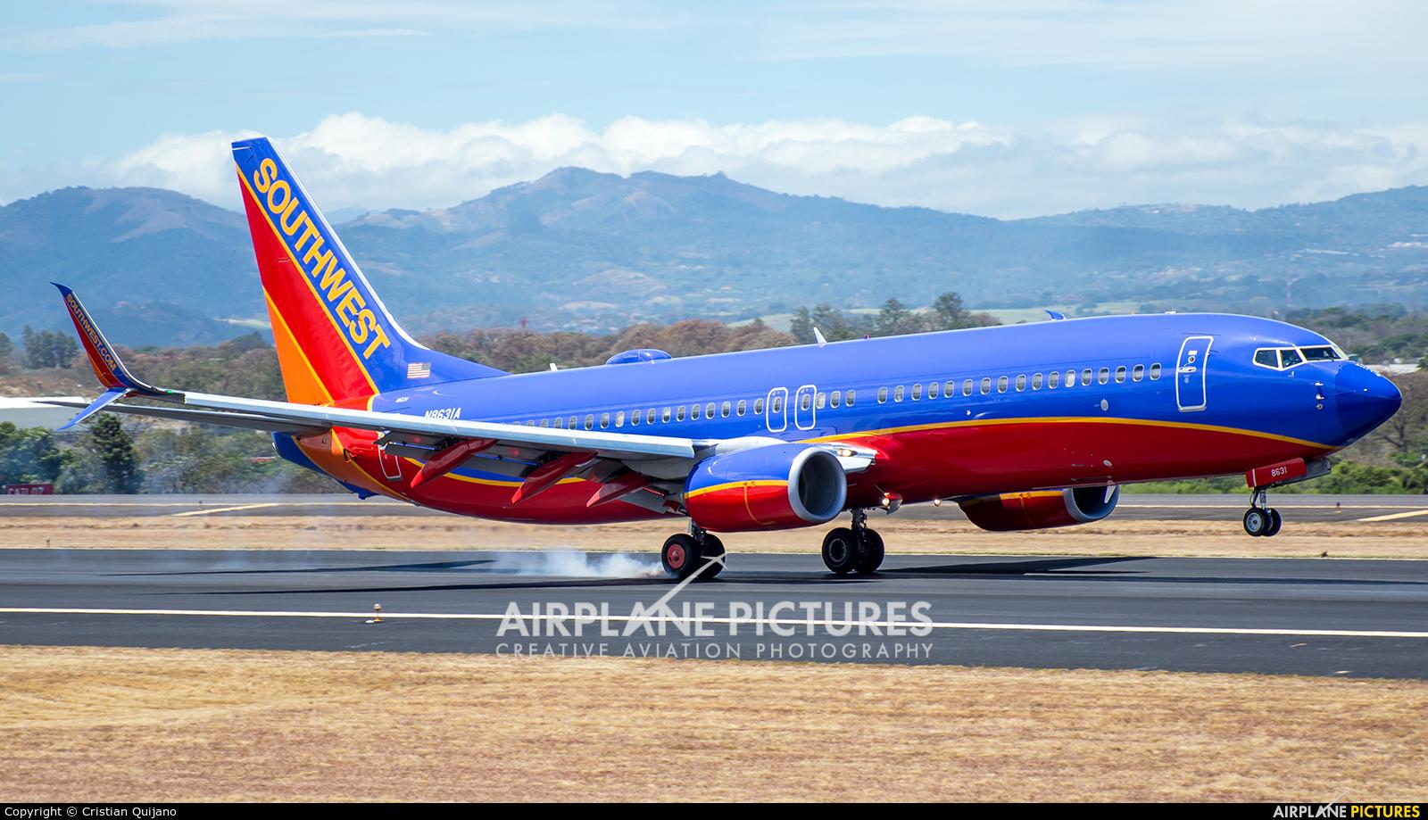 Southwest Airlines N8621A aircraft at San Jose - Juan Santamaría Intl