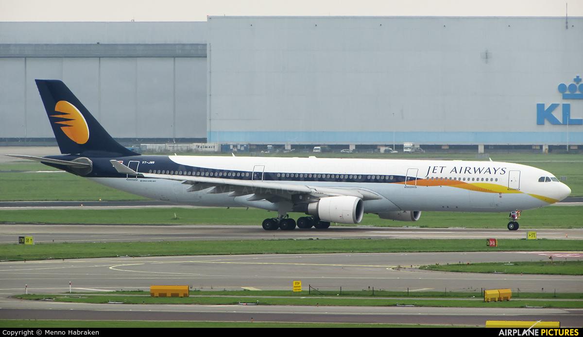 Jet Airways VT-JWR aircraft at Amsterdam - Schiphol