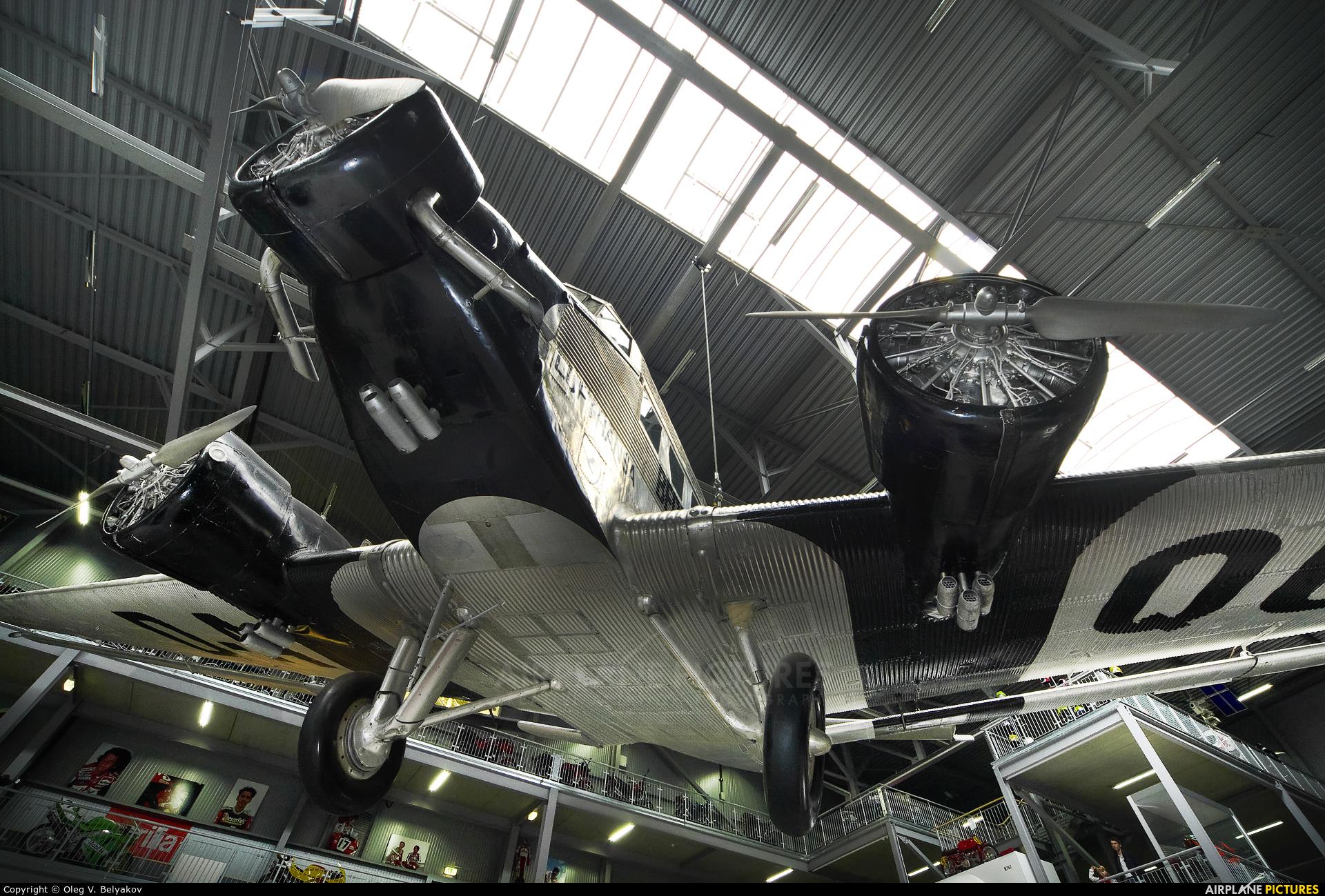 Lufthansa (Berlin-Stiftung) D-AQUI aircraft at Speyer, Technikmuseum
