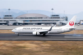 JA349J - JAL - Japan Airlines - Airport Overview - Aircraft Detail