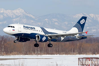 VP-BUN - Aurora Airbus A319
