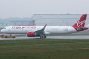 D-AYAL - Virgin America Airbus A321 NEO aircraft