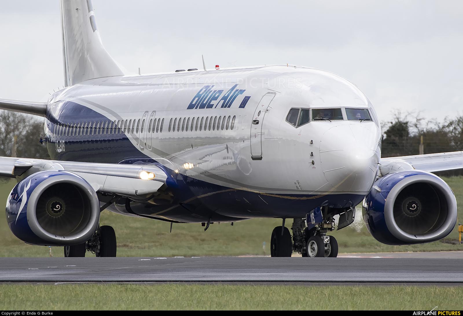 Blue Air YR-BMB aircraft at Dublin