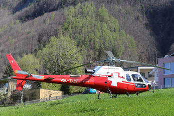 HB-ZLG - Swiss Helicopter Aerospatiale AS350 Ecureuil / Squirrel
