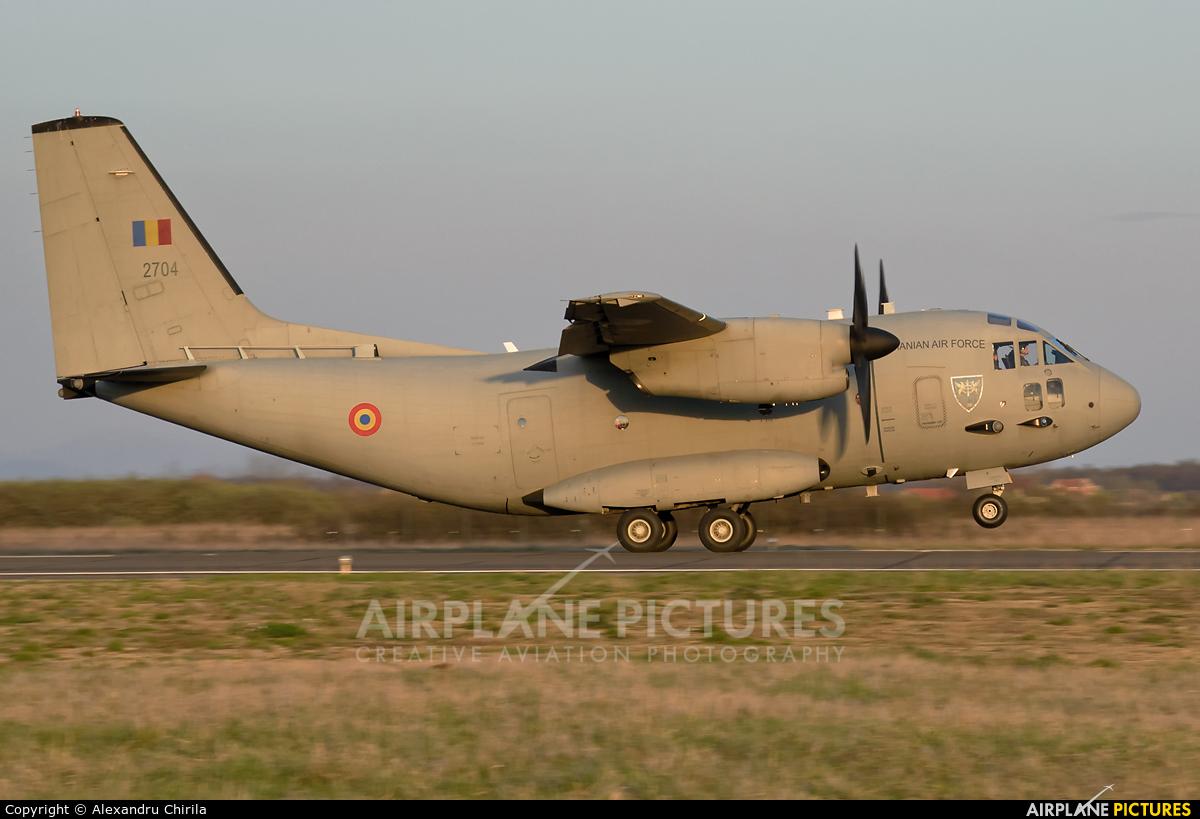 Romania - Air Force 2704 aircraft at Satu-Mare