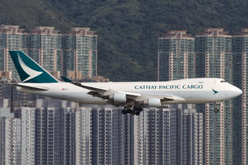 B-LIC - Cathay Pacific Cargo Boeing 747-400F, ERF
