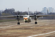 First flight of Antonov An-132D title=