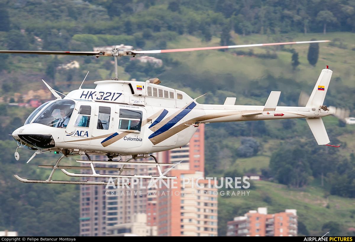 HK-3217 aircraft at Medellin - Olaya Herrera