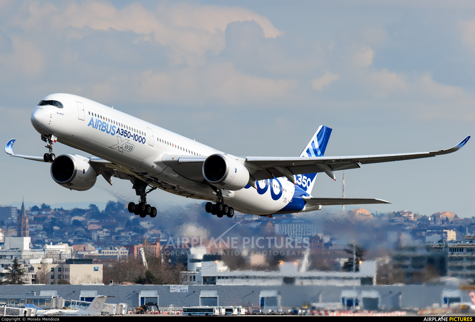 Airbus Industrie F-WMIL aircraft at Toulouse - Blagnac