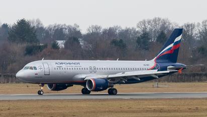 VQ-BIV - Aeroflot Airbus A320