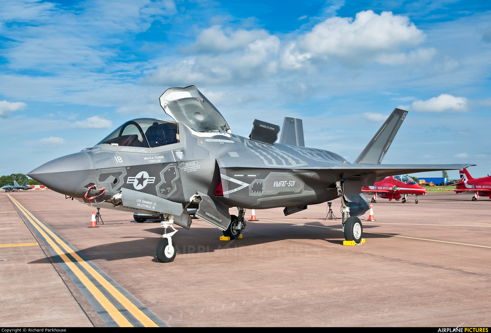 USA - Marine Corps 168726 aircraft at Fairford