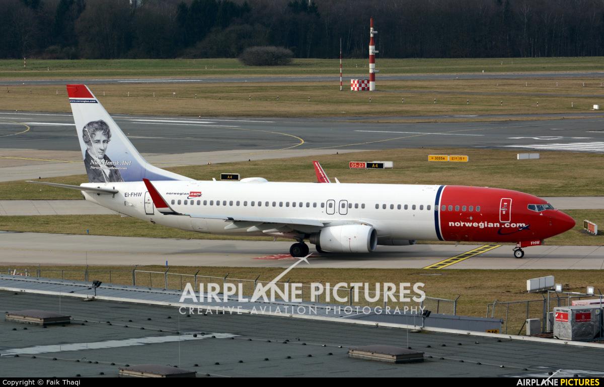 Norwegian Air International EI-FHW aircraft at Hamburg - Fuhlsbüttel