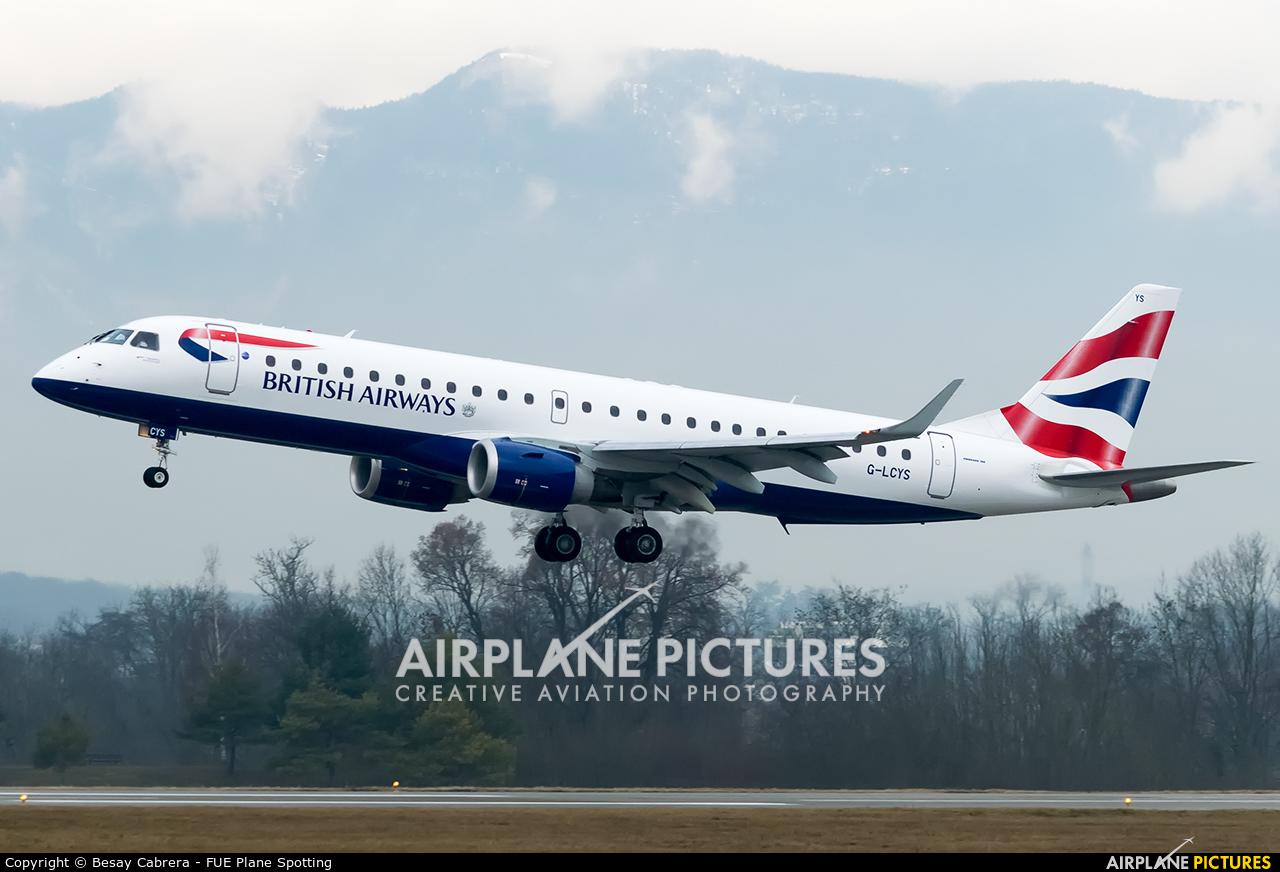 British Airways - City Flyer G-LCYS aircraft at Geneva Intl